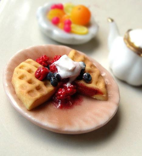 As deliciosas miniaturas de Kim Burke | 2.0 Webmania | Foodies | Scoop.it