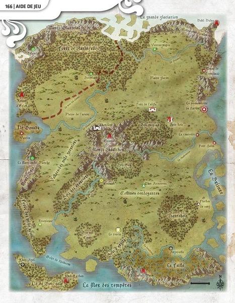 Les cartes de l'île d'émeraude (CB#16) | Jeux de Rôle | Scoop.it