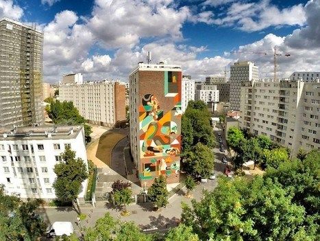 Street-art : Reka vient de terminer sa dernière fresque GÉANTE dans le 13e à Paris | SandyPims | Scoop.it