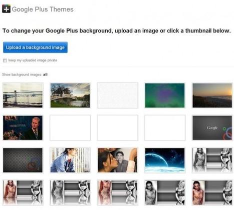 Ajouter une image de fond à Google+ | Ballajack | A l'ère du webmarketing. | Scoop.it