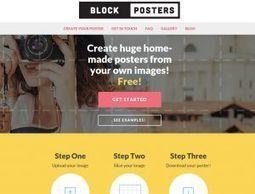 Herramienta online para crear pósters gigantes | Educacion, ecologia y TIC | Scoop.it