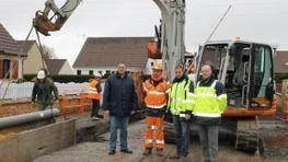 Essigny-le-Grand : de gros travaux d'assainissement engagés au village | water news | Scoop.it