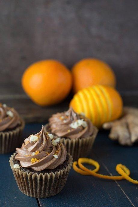 Vegan Chocolate Orange Cupcakes - Recipe | My Vegan recipes | Scoop.it