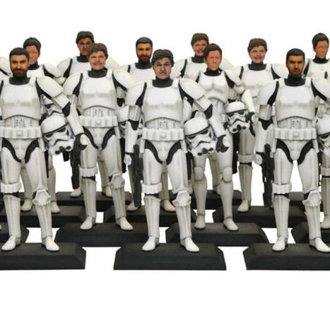 Turn Yourself Into a 3D-Printed Star Wars Stormtrooper | Sci-Fi Chronicle | Scoop.it