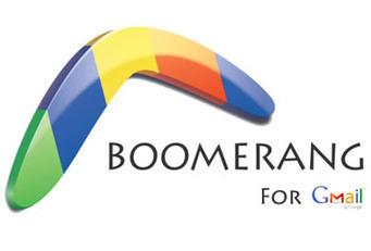 [astuce] Boomerang for Gmail, optimisez votre utilisation du courriel | Social Media Curation par Mon-Habitat-Web.com | Scoop.it