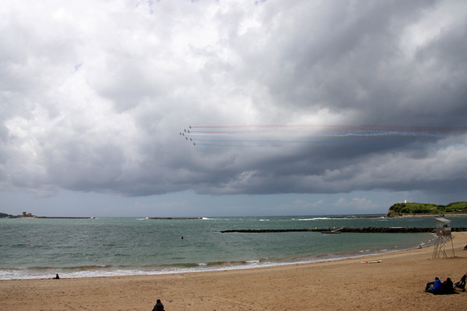 Le meeting de la Patrouille de France au Pays Basque en images | Cote-basque way of life | Scoop.it