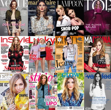 Découvrez l'histoire de l'ascension extraordinaire de Chiara Ferragni ! – Chloé Handbag Addict | Fashion blogs | Scoop.it