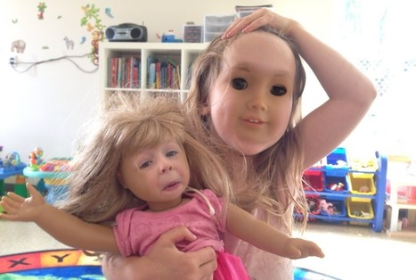 Swapping the faces of children with their dolls creates an unspeakable horror | Psychology and matter | Scoop.it