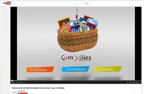 Tutoriel vidéo pour l'administration d'un site Joomla | Autour du CMS Joomla | Scoop.it