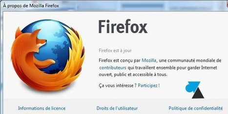 Sauvegarder et importer un profil Firefox | Ressources informatique et classe | Scoop.it