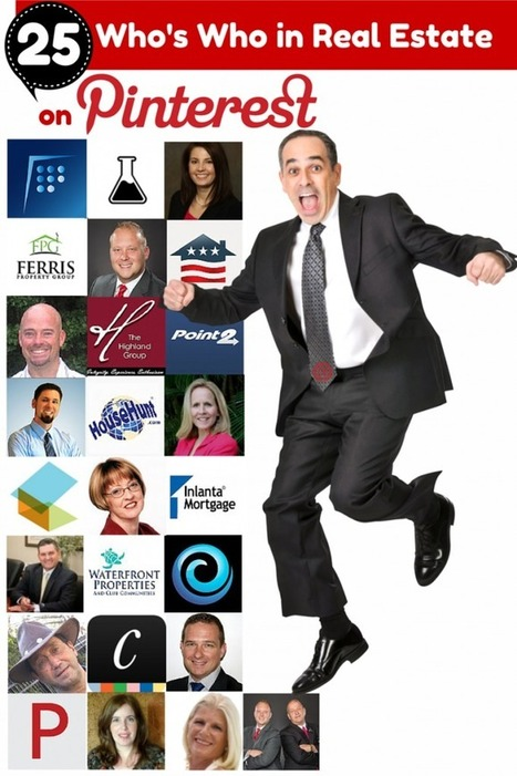 """The """"Who's Who"""" of the Real Estate Industry to Follow on Social Media - Pinterest 