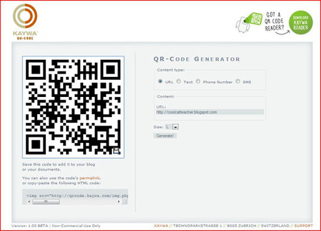 Cool Cat Teacher Blog: QR Code Classroom Implementation Guide | School Libraries Leading Information Literacy | Scoop.it