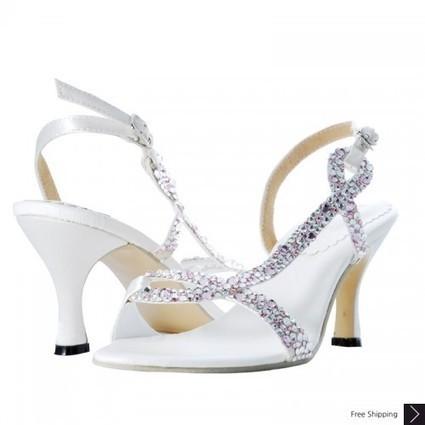 Peridot Crystal Wedding Sandal Shoes | Designer Crystal Bridal Shoes | CrystalHeels.com | Scoop.it