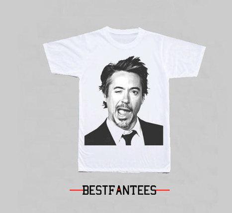 Robert Downey Jr mug shot wink T-Shirt Unisex 054 | New Collection | Scoop.it