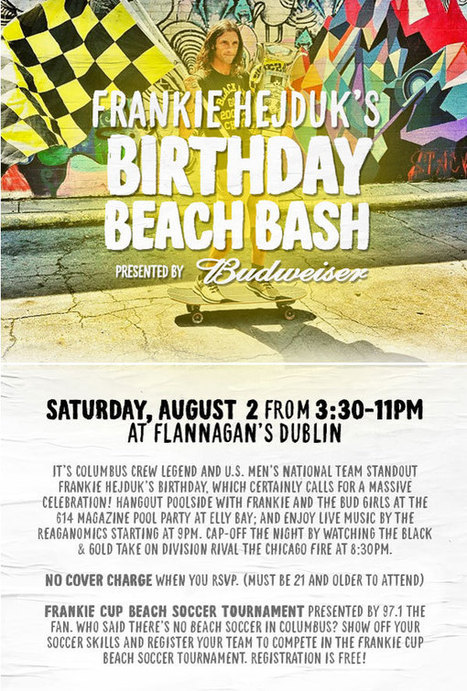 Frankie Hejduk's Birthday Beach Bash 2nd August   All I Need....   Scoop.it