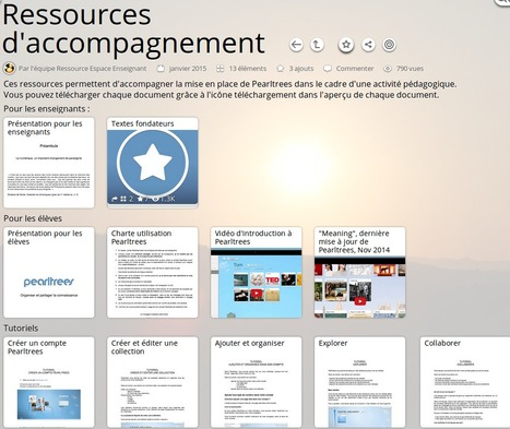 PearlTrees propose un espace enseignant | eLearning related topics | Scoop.it