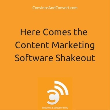 Here Comes the Content Marketing Shakeout | Convince and Conver | Content Creation, Curation, Management | Scoop.it