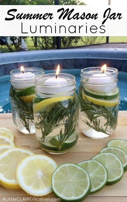 35 Amazing DIY Mason Jar Projects | The Everyday Home | www.everydayhomeblog.com | FOOD? HEALTH? DISEASE? NATURAL CURES??? | Scoop.it