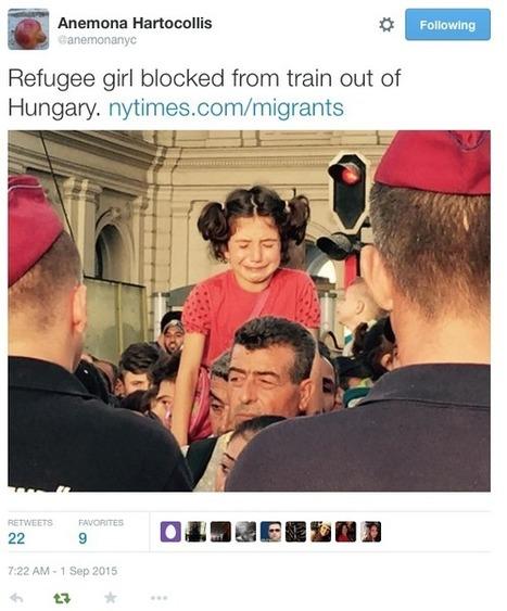 Réfugiés: ces images d'enfants qui font vaciller les opinions publiques | FLE et nouvelles technologies | Scoop.it