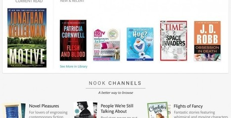 Nook Reading App 4.0 now on Android devices - Android Community | Digital Book News | Scoop.it