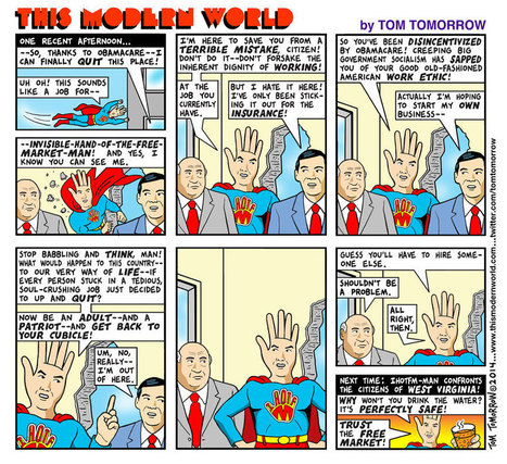 Introducing Invisible-Hand-of-the-Free-Market Man! | DidYouCheckFirst | Scoop.it