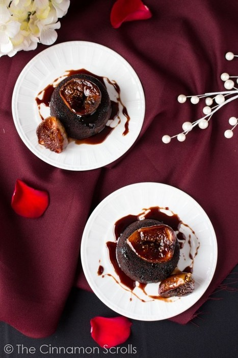 Mini Chocolate Wine Cakes with Balsamic Glazed Figs | The Cinnamon Scrolls | Candy Buffet Weddings, Events, Food Station Buffets and Tea Parties | Scoop.it