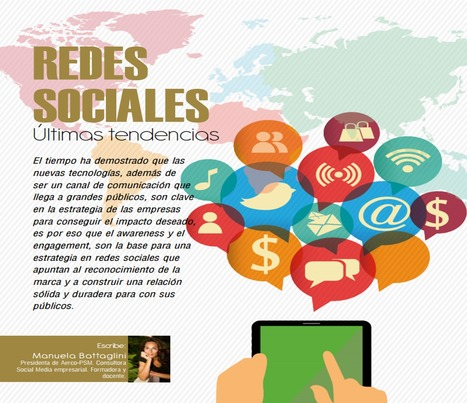 Redes sociales: Últimas tendencias / Manuela Battaglini | Comunicación en la era digital | Scoop.it