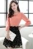 Dotted A-line Chiffon Dress - OASAP.com | Oasap street fashion | Scoop.it