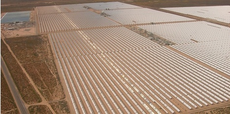 Le solaire, nouvel or noir du désert ?   Solaire thermique   Scoop.it
