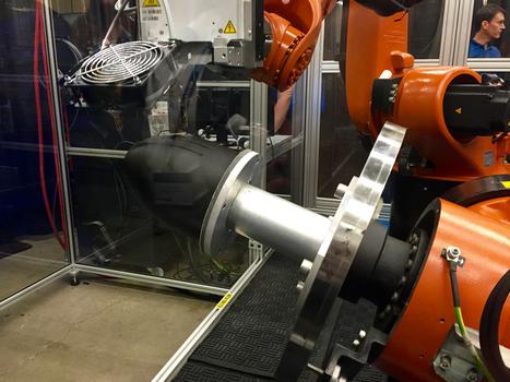 UNLAYERED: Stratasys' New Robotic Composite 3D Concept | e-merging Knowledge | Scoop.it