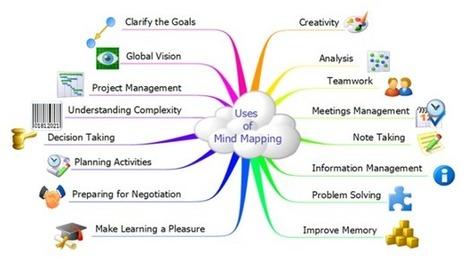 Le MindMapping, arme fatale du community manager   Les infographies !   Scoop.it
