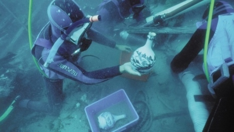 'Light and fresh': World's oldest beer brewed from shipwreck bottle | Amocean OceanScoops | Scoop.it