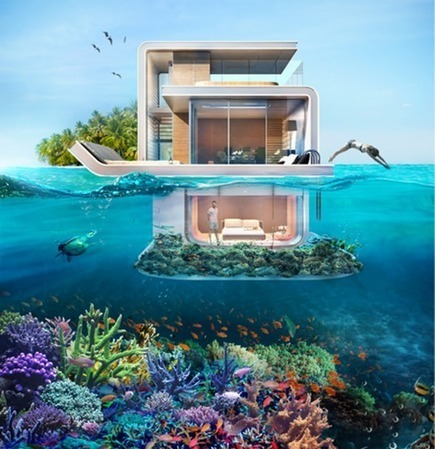Floating Seahorse boats to offer partially submerged living in Dubai's Heart of Europe | Real Estate Plus+ Daily News | Scoop.it