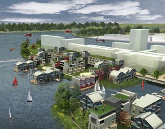 Habitat flottant | Habiter le fleuve | Scoop.it
