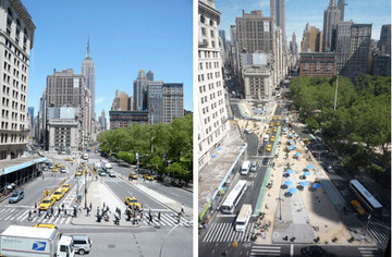 New York City Streets Renaissance « Project for Public Spaces | green streets | Scoop.it
