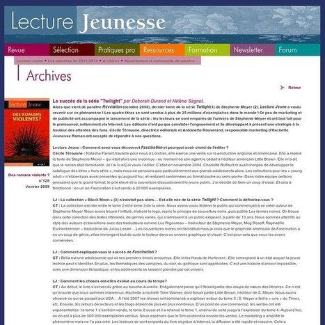La littérature de jeunesse dans Savoirs CDI | Fomations doc | Scoop.it