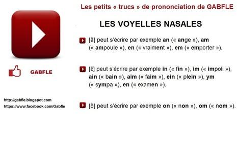 GABFLE: DES OUTILS DE PRONONCIATION | Remue-méninges FLE | Scoop.it