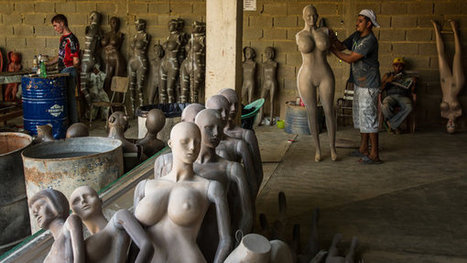 Mannequins Give Shape to a Venezuelan Fantasy | Horn APHuG | Scoop.it
