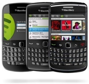 Spotify For BlackBerry Officially Released, Only Supports Old Hardware | Music business | Scoop.it
