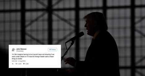 Former nuclear weapons operator goes ballistic about Trump in 20 tweets | Current Events, Political & This & That | Scoop.it