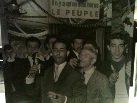 Algériens célèbrant en famille l'Indépendance (La Goutte d'Or,Paris, 5/7/1962). | Actions Panafricaines | Scoop.it