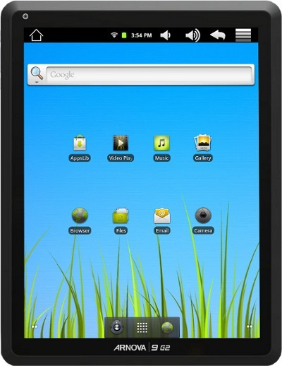 Archos Unveils Arnova 9 G2 Android Tablet | Embedded Systems News | Scoop.it