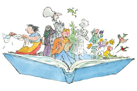 'I would find myself forging my own work': Quentin Blake on how he came to found the House of Illustration | Children's Literature | Scoop.it