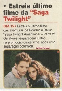 Scans da revista TV Mais (Portugal) - nova foto de Robert Pattinson ... | Parede | Scoop.it