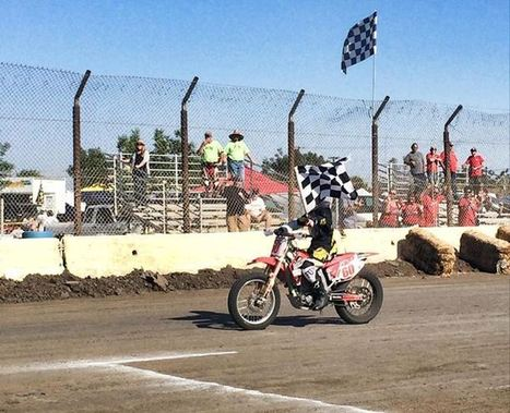 Hunter Graham takes home the Open Amateur Win!!! Will post full results in a bit. | California Flat Track Association (CFTA) | Scoop.it