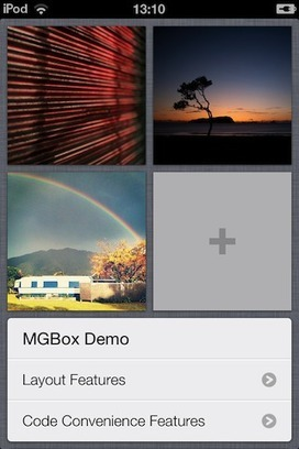 MGBox2, Designed for rapid table and grid creation with minimal code | iPhone, development & design | Scoop.it