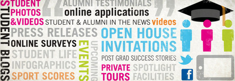 Social Media in Higher Ed Alumni Relations | Merge | Curation Revolution | Scoop.it
