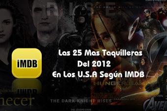 Las 25 Películas Mas Taquilleras del 2012 - CineChat Radio | Películas | Scoop.it