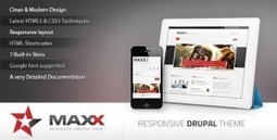Maxx - Themeforest Responsive Creative Drupal theme | Theme Mart | Scoop.it