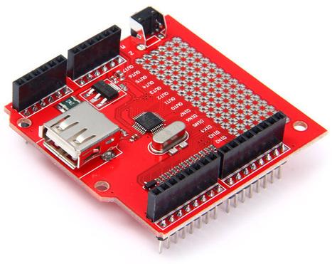 USB Host Shield V1.5 for Arduino | Raspberry Pi | Scoop.it